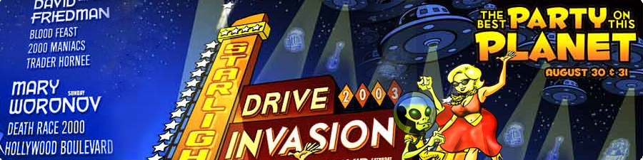 Drive Invasion Poster
